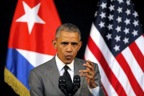 奥巴马:美国将继续向古巴伸出友谊之手的意愿不会改变