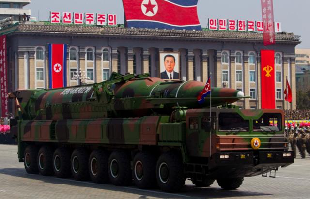 美情报机构:朝或准备发射射程达美太平洋海岸导弹
