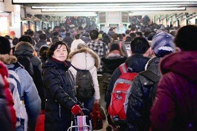 铁路今迎43万人返京 预计