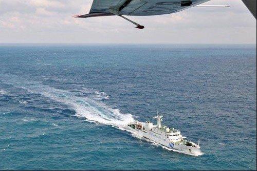 媒体称中国海监船航速低于日方 应提高建造标准