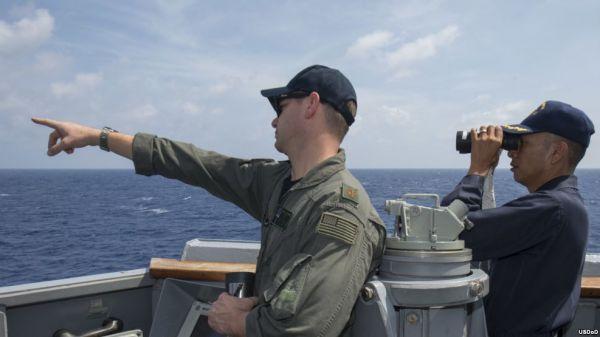 美媒称美军拖延赴南海抵近巡航:不想再激怒中国