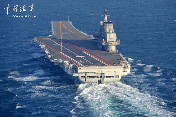 辽宁舰维护需4个月 中国应尽快造航母实行轮换