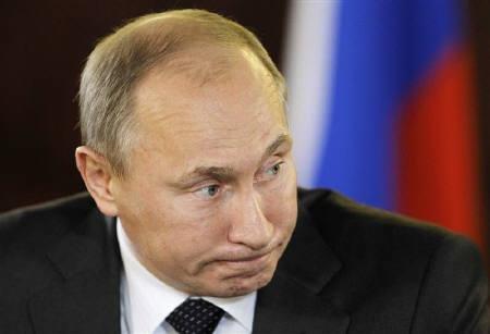普京称媒体大肆播放卡扎菲被杀画面令人生厌