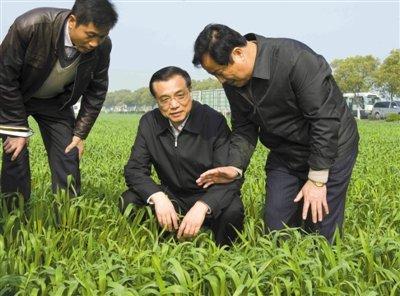 李克强惊讶江苏农民1家5口住200平米:住房这么大?(组图)