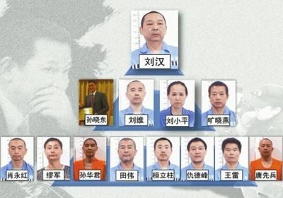 四川黑老大刘汉下周受审 与商人周滨关系密切