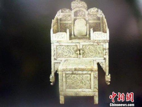"""曾经在北京拍出2.2亿元天价的""""汉代玉凳"""""""