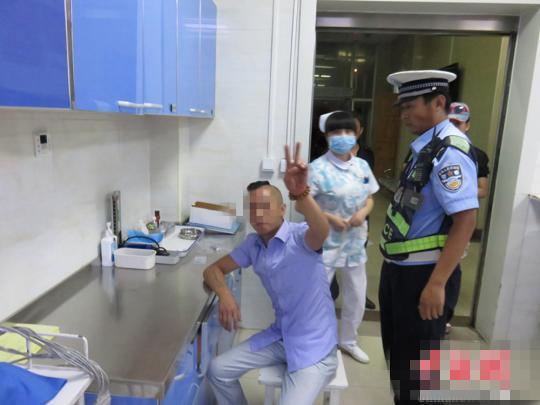男子酒驾被查,取证时摆剪刀手要求用美颜相机!太臭美了吧