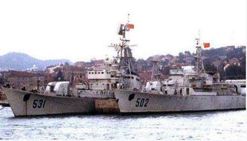 青岛海军博物馆证实502号功勋舰已经被拆解(图)