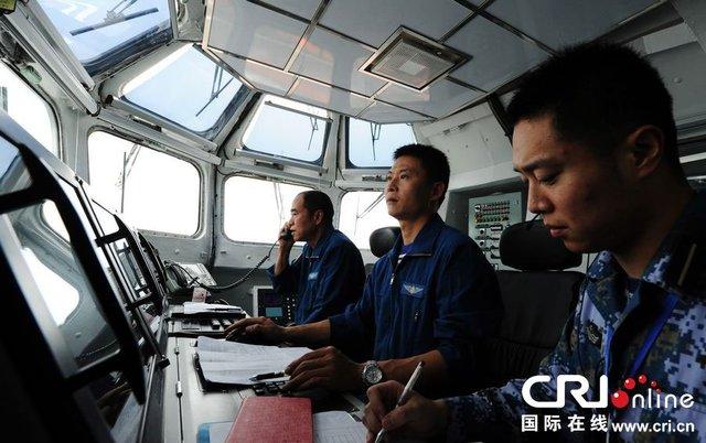组图:辽宁舰在南海完成作战系统综合研试