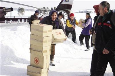 欧洲中东部寒流致122人死 塞尔维亚万余人被困