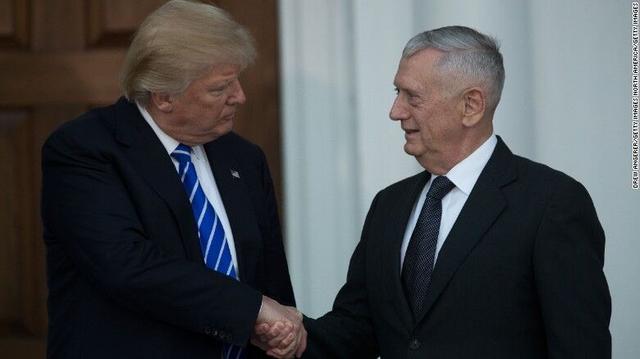 退休将军马蒂斯或被特朗普提名国防部长 曾谈到以杀人为乐
