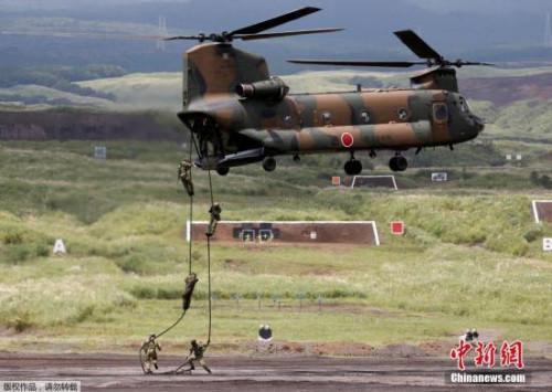 日本自卫队在澳与美军实施联合训练 3.3万人参加