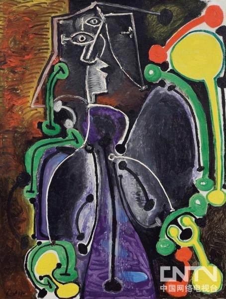 毕加索名画《怀孕的情人》以855万英镑售出
