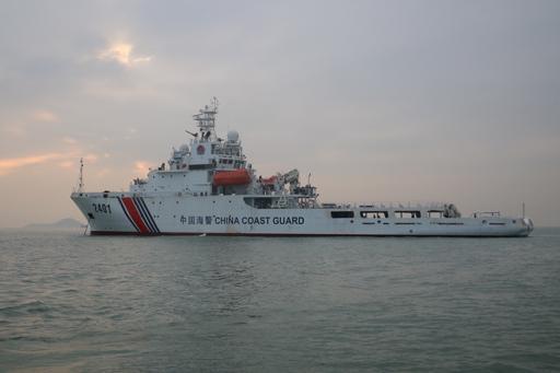 中国海警编队4月26日在中国钓鱼岛领海巡航(图)