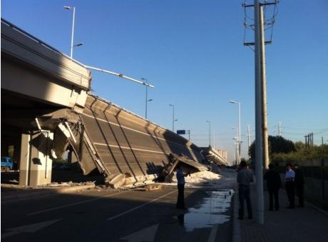 哈尔滨阳明滩大桥引桥坍塌3死5伤 通车不足1年 - JamesLee@1986 - 鑫s blog