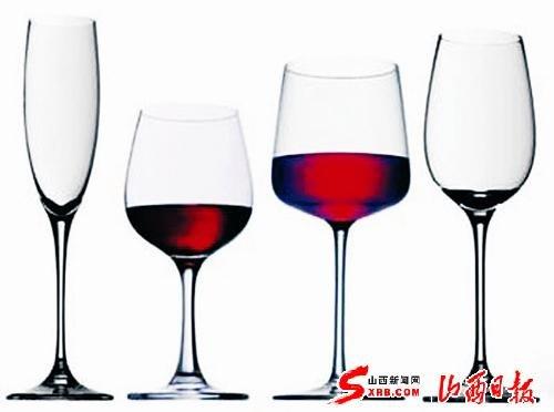 葡萄酒杯分类和使用(图)图片