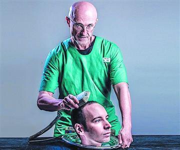 中意专家欲联手实施换头术 手术已有志愿者(图)