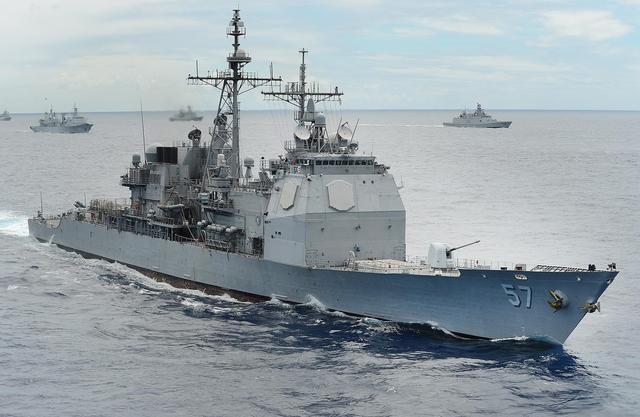美欲评估美台军舰互访,中方提出严正交涉