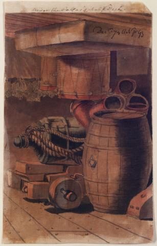 """""""僵尸肉""""与朗姆酒:风帆时代英国水手吃什么"""