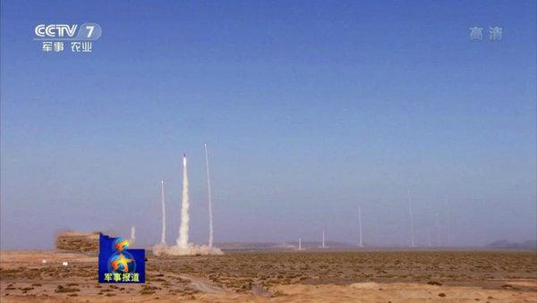 10枚东风-21C齐射 专家:火箭军战术水平高(图)