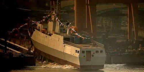 防贼防盗防摸哨-反潜型056舰
