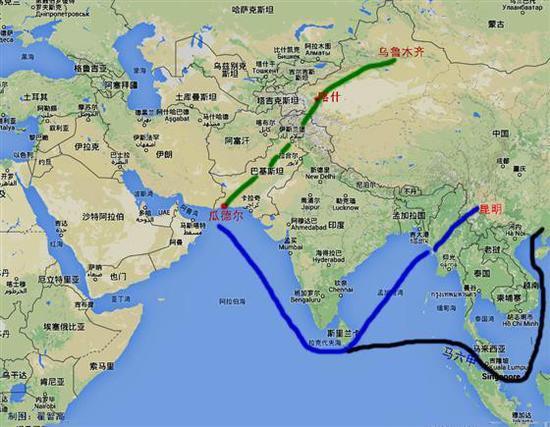 外媒称中国不再怕南海被封锁 因中巴有一项目将开工
