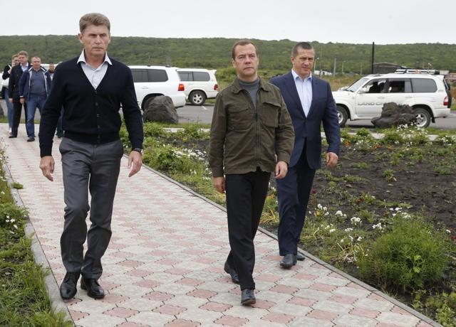 日俄领导人商定在南千岛群岛共同进行经济活动