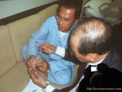 陈水扁再闹自杀遭狱方处分 民进党人不满放狠话