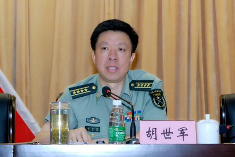 陆军第42集团军政治部主任胡世军晋升少将军衔