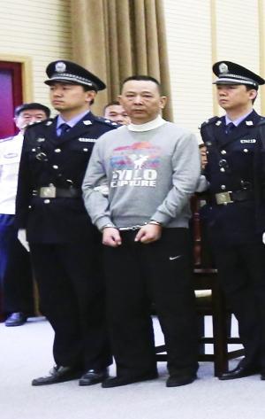 """刘汉刘维一审被判死刑 """"小弟""""作证后含泪离去"""