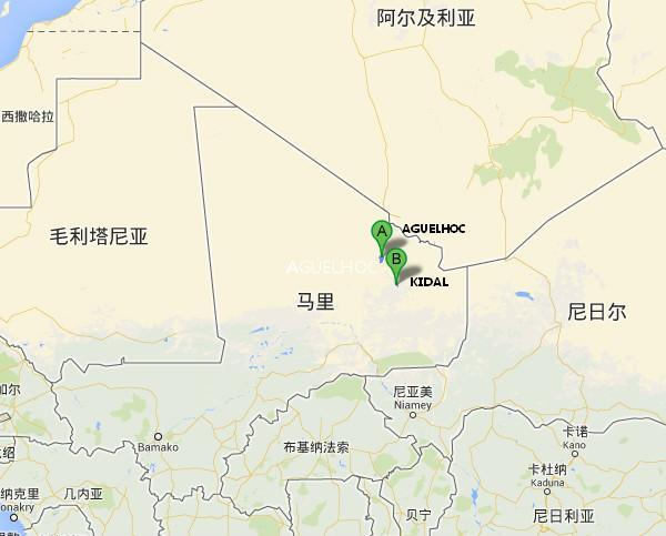 马里总统称阿尔及利亚失联客机坠落在马里北部