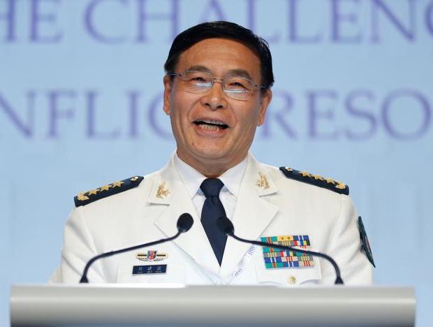 孙建国:某些国家南海炫武力 解放军信理不信邪