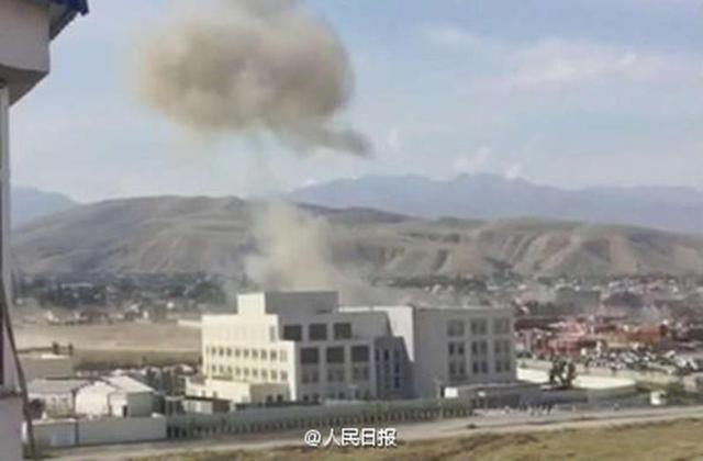 中国驻吉大使馆遭汽车炸弹袭击 吉总统下令彻查