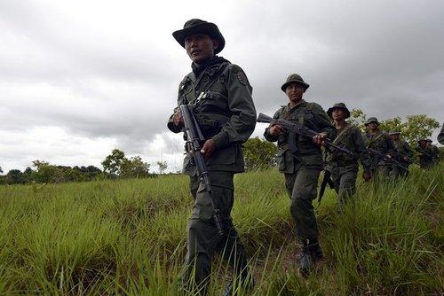 中国雇佣兵_委内瑞拉称抓获美\