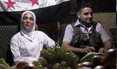 叙利亚战火中现爱情 反对派士兵娶护士(图)