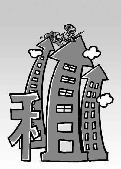 大中城市多数中低收入者付完房租仅够温饱