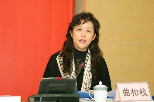 李春城妻子、原成都红十字会党组书记曲松枝
