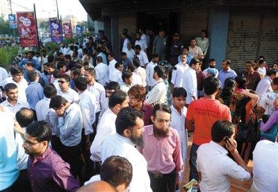 高清图—巴基斯坦西南部俾路支省发生7.7级地震