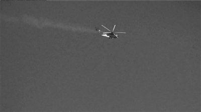 叙利亚政府军一架武装直升机在首都被击落
