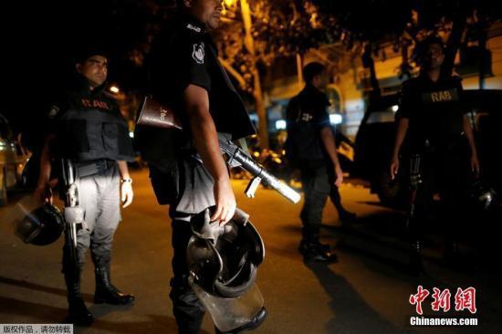 孟加拉国警方击毙3名极端分子 包括达卡餐厅恐袭主使