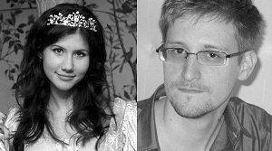 斯诺登回应俄美女间谍求婚:愿不顾一切和你结婚