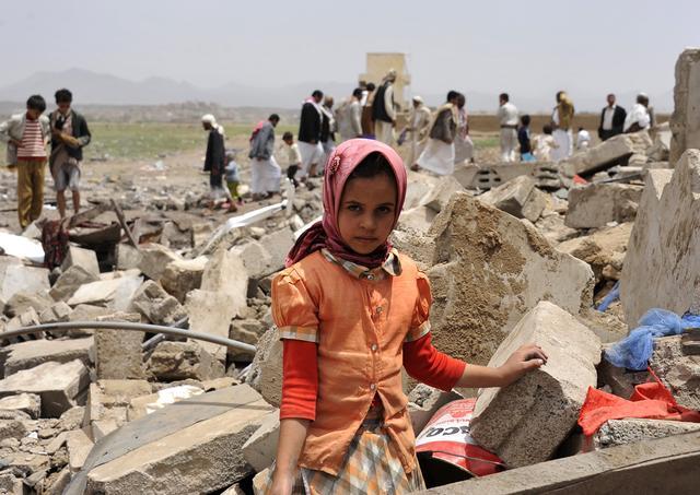 沙特主导的联军被移出联合国儿童保护黑名单