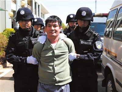 湄公河案主犯等4人被正法 临刑前望子女勿学他
