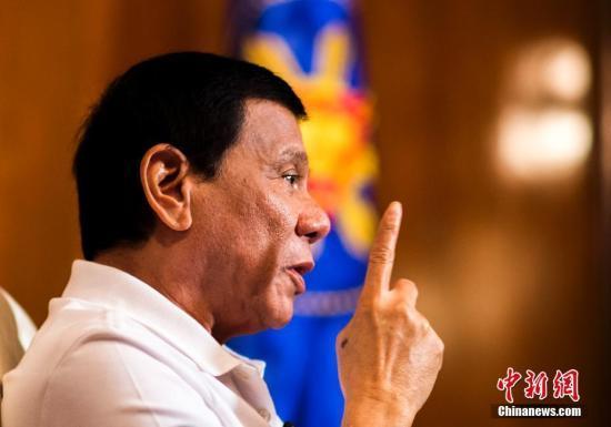 菲总统评中国:中国对菲一直很好、很真诚,也很和平