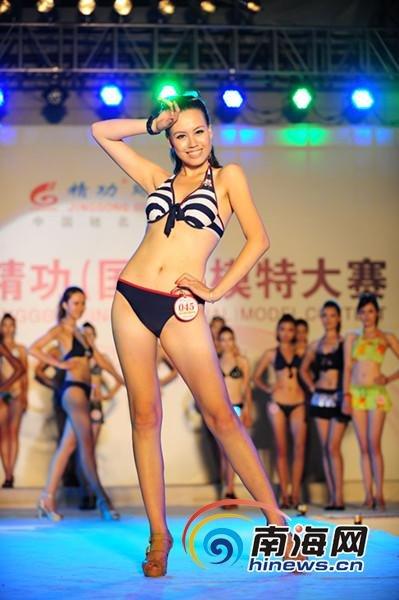 名模特婷婷的人体艺术_杨婷婷)正在参加2011第十届(国际)模特大赛全国总决赛的模特们,在紧张