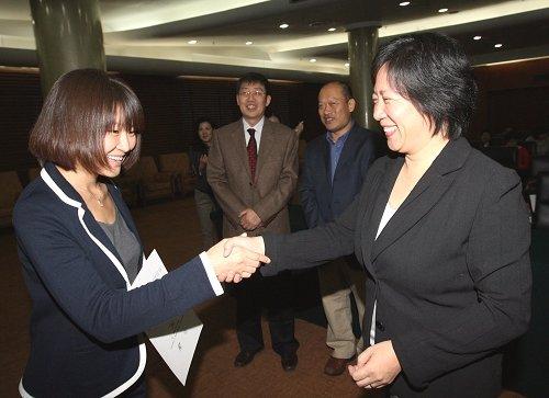 """2011年度""""拜耳青年环境记者奖""""在京颁奖"""