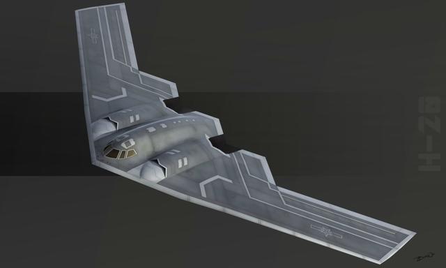 中国新一代远程轰炸机轰20被军方确认 核常兼备