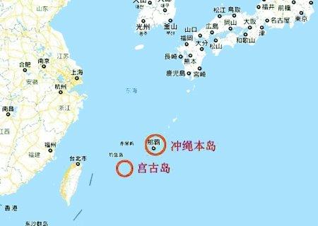 4艘中国军舰通过冲绳近海 国防部称系例行训练