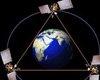 3颗地球同步定点卫星