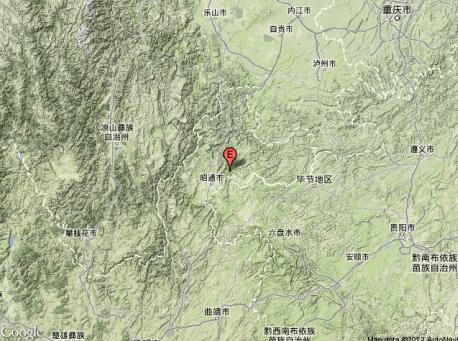 地震所在位置